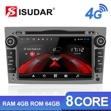 Isudar H53 4G Android 2 Din Auto Radio For OPEL/ASTRA/Zafira/Corsa Car Multimedia DVD Player GPS 8 Core RAM 4GB ROM 64GB USB DVR цена и фото