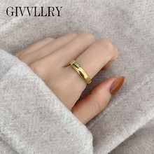 цена на 4mm Titanium Steel Finger Ring Fashion Jewellry Couple Gift Punk Minimalist Rose Gold Silver Men Rings for Women Stainless Steel