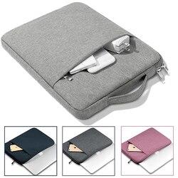 Manga Laptop maleta para Teclast F15S 15.6 F7S 14.1 F6 F7 F5 plus F6pro 13.3 ''F15 X4 11.6'' X6 pro 12.6 polegada saco bolsa