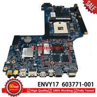 603771 001 Mainboard for HP for Envy 17 1000 envy17 envy 17 Laptop Motherboard DA0SP8MB6E0 100% TESED OK