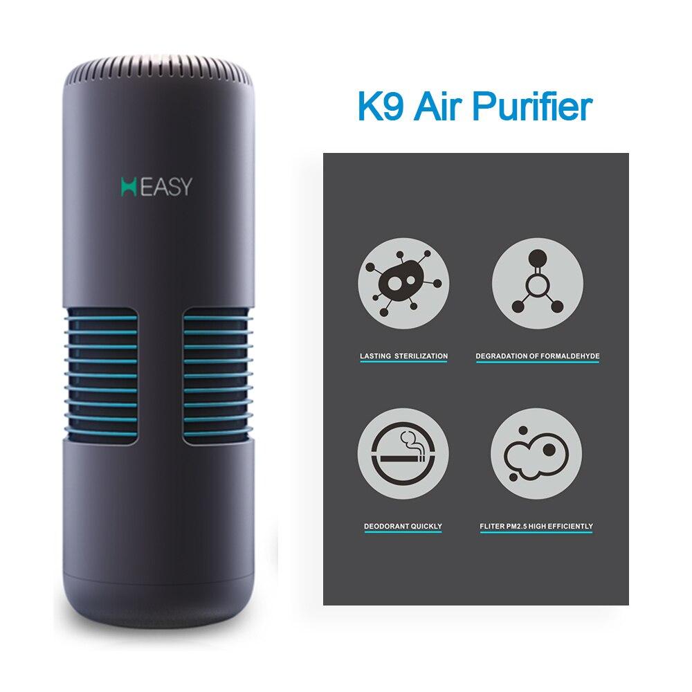 Air Purifier Air Cleaner Household HEPA M2.5 Filter Smoke Dust Formaldehyde TVOC Home Car Deodorization Air Purifie Black