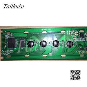 Image 1 - DMF5005Nหน้าจอHG245011 B 240X64 กราฟิกDot Matrix 24064 LCD Lหน้าจอสีฟ้าสีเหลืองหน้าจอ