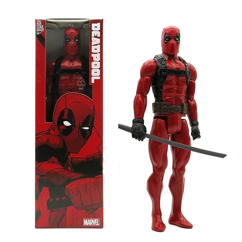 30CM Marvel légendes Figures Deadpool Joints mobiles x-men PVC Action figurine ensemble à collectionner décompression poupée jouets pour enfants