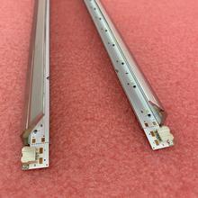 2 قطعة LED الخلفية قطاع لسامسونج UE40K5100 UN40K5300A UE40K5100AK UE40K5300A UE40K5100E V6LF_395SFA 395SFB_LED21