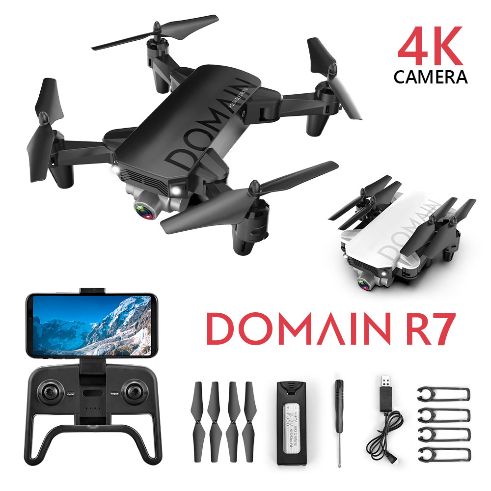 Drone 4k 720P Quadrocopter With Camera Mini Drone Camera Drones With Camera Hd Wifi Dron Selfie Profesionales Black Kids Toys|RC Helicopters| |  - title=