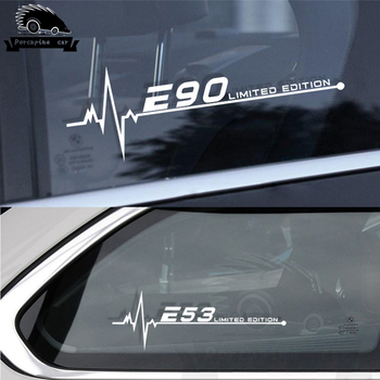 2PCS/Lot Car Side Window Stickers Decals For BMW E28 E30 E34 E36 E39 E46 E53 E60 E61 E62 E70 E87 E90 E91 E92 E93 Accessories image