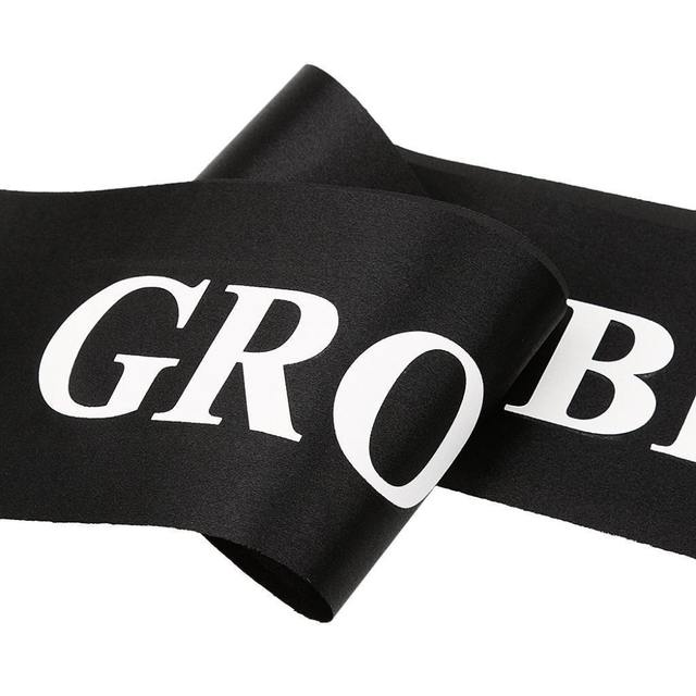 """""""Groom to Be"""" Satin Ribbon for Bachelor Party"""