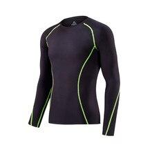 Bodysuit Men's Training Suit Quick Dry Stretch Yoga Suit Toning Body Casual T-shirt DYROREFL .GD1003