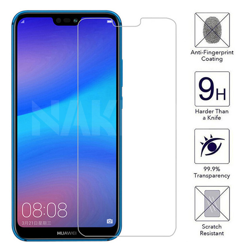 9H Protective Glass On The For Huawei P20 Pro P10 Lite Plus P30 Lite P Smart 2019 Screen Protector Tempered Glass Film Case