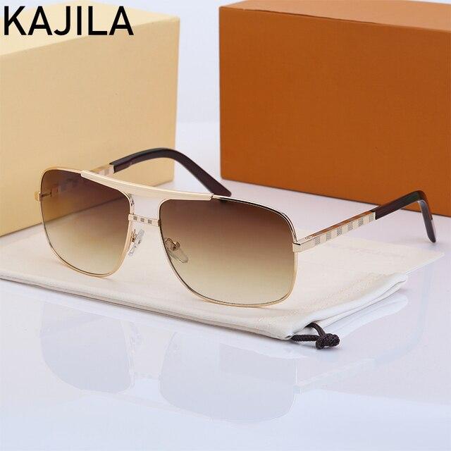 Очки солнцезащитные мужские квадратные, винтажные брендовые дизайнерские солнечные очки в стиле ретро, 2020