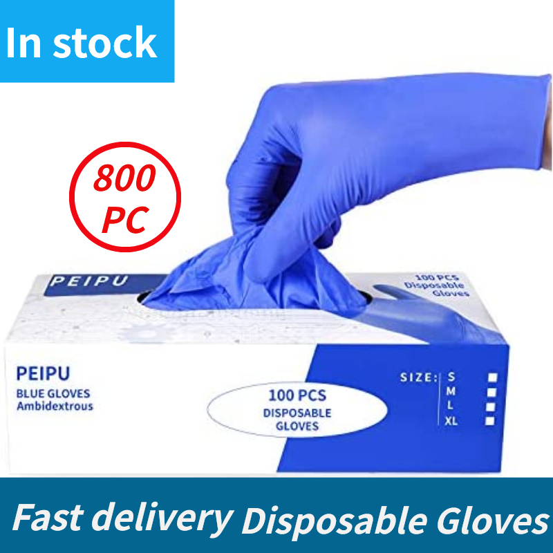 Protective-Safety-Gloves House Disposable Waterproof Blue Xingyu Industrial 100/800pc