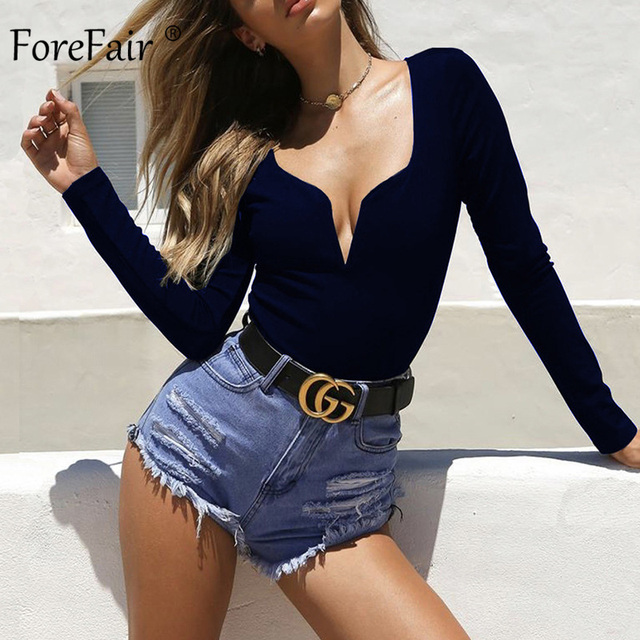 Navy Blue Bodysuit