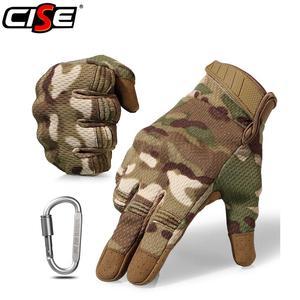 Image 1 - Touch Screen รถจักรยานยนต์ Full Finger ถุงมือ Motocross Camouflage Breathable ป้องกันเกียร์รถจักรยานยนต์ Racing Hard Knuckle ขับรถ