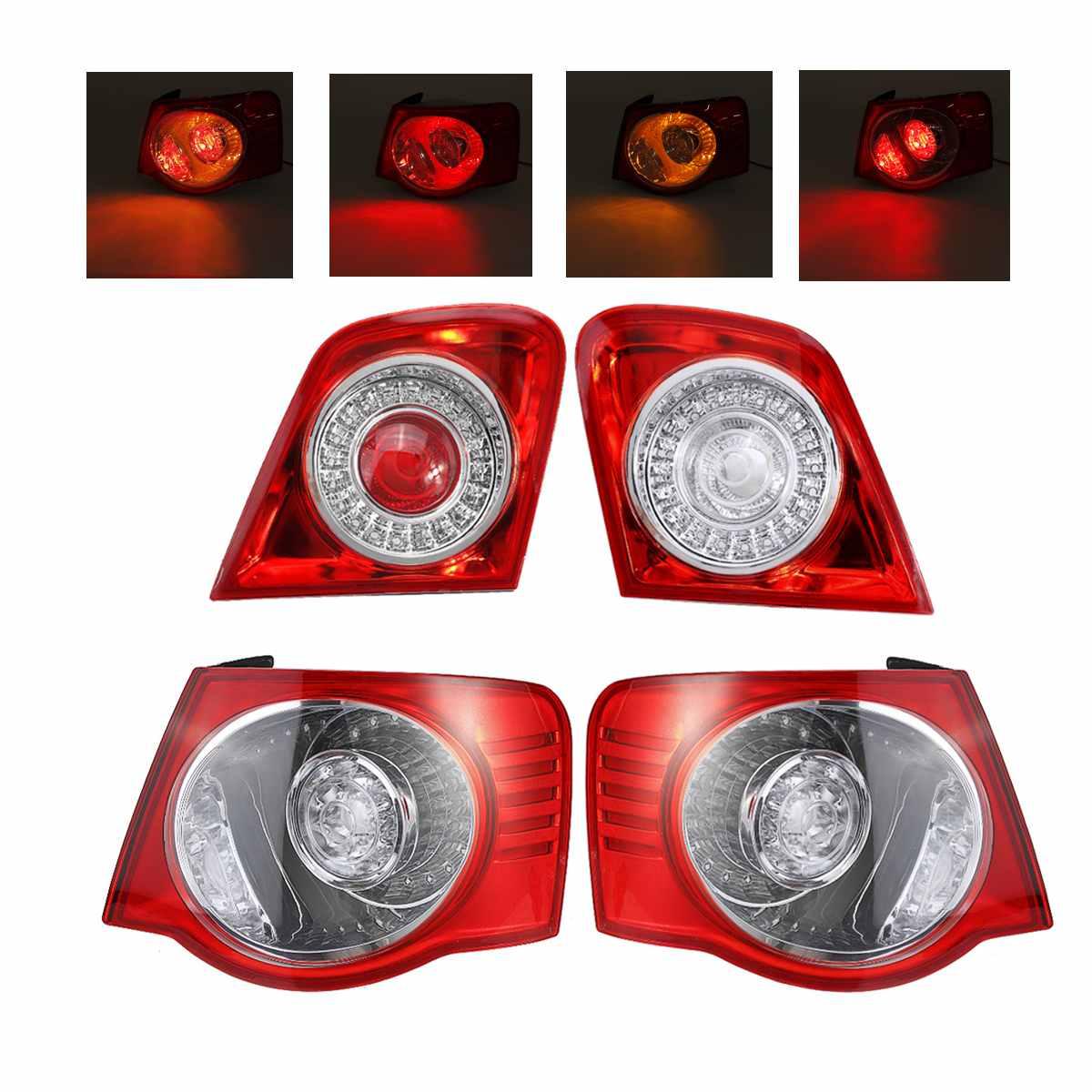 New Car Tail Light Shell Taillight Rear DRL Brake Light Signal Lamp For VW Passat B6 Sendan 2006 2007 2008 2009 2010 2011