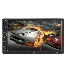 SWM A2 Android 8.1 Car GPS Navigation Stereo 7 inch 1GB+16GB Quad Core Bluetooth WiFi USB Radio Receiver In Dash Head Unit car stereo octa core 7 android 7 1 double din in dash radio car video bluetooth wifi mirrorlink gps navigation system 4g dongle