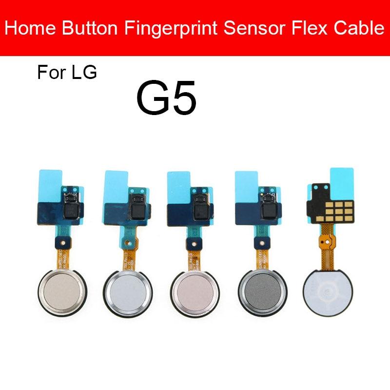 Home Button Fingerprint Sensor Flex Cable Ribbon For LG G5 H820 H830 H840 H848 H850 Replacement Parts