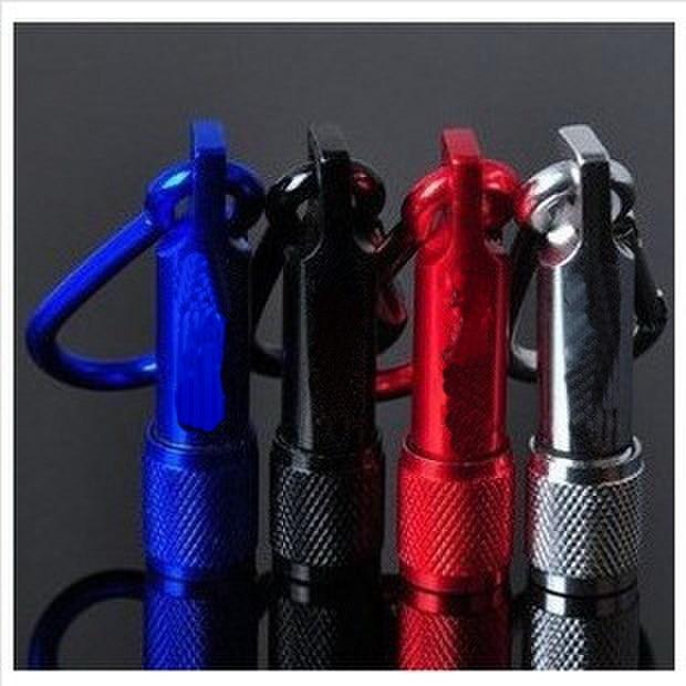 Flashlight Mini Torch Flashlight Waterproof Aluminium Alloy Carabiner Small Flashlight Pocket Small Flashlight