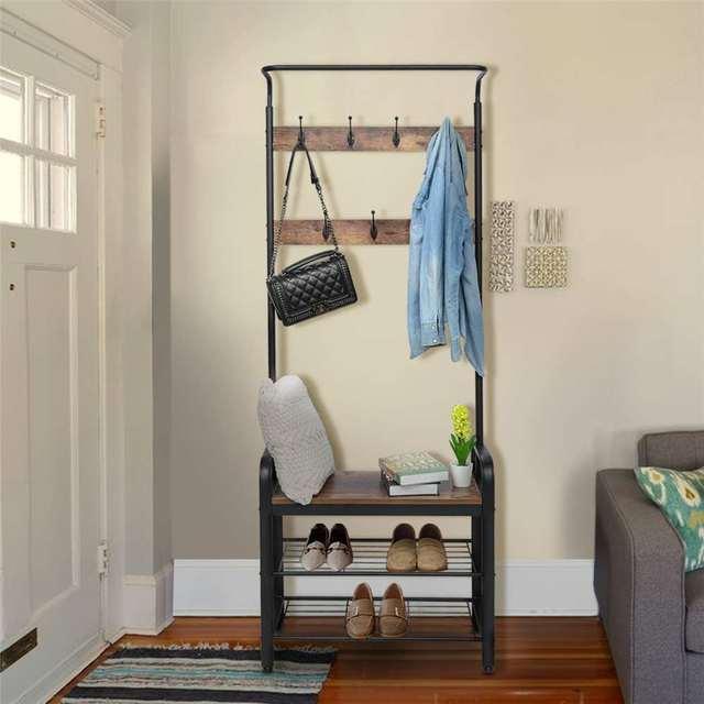 3-Tier Floor Standing Shelf  2