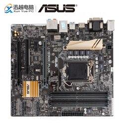 Asus B150M-PLUS سطح اللوحة B150 المقبس LGA 1151 ل النواة i7 i5 i3 DDR4 64G USB3.0 مايكرو ATX الأصلي تستخدم اللوحة الأم