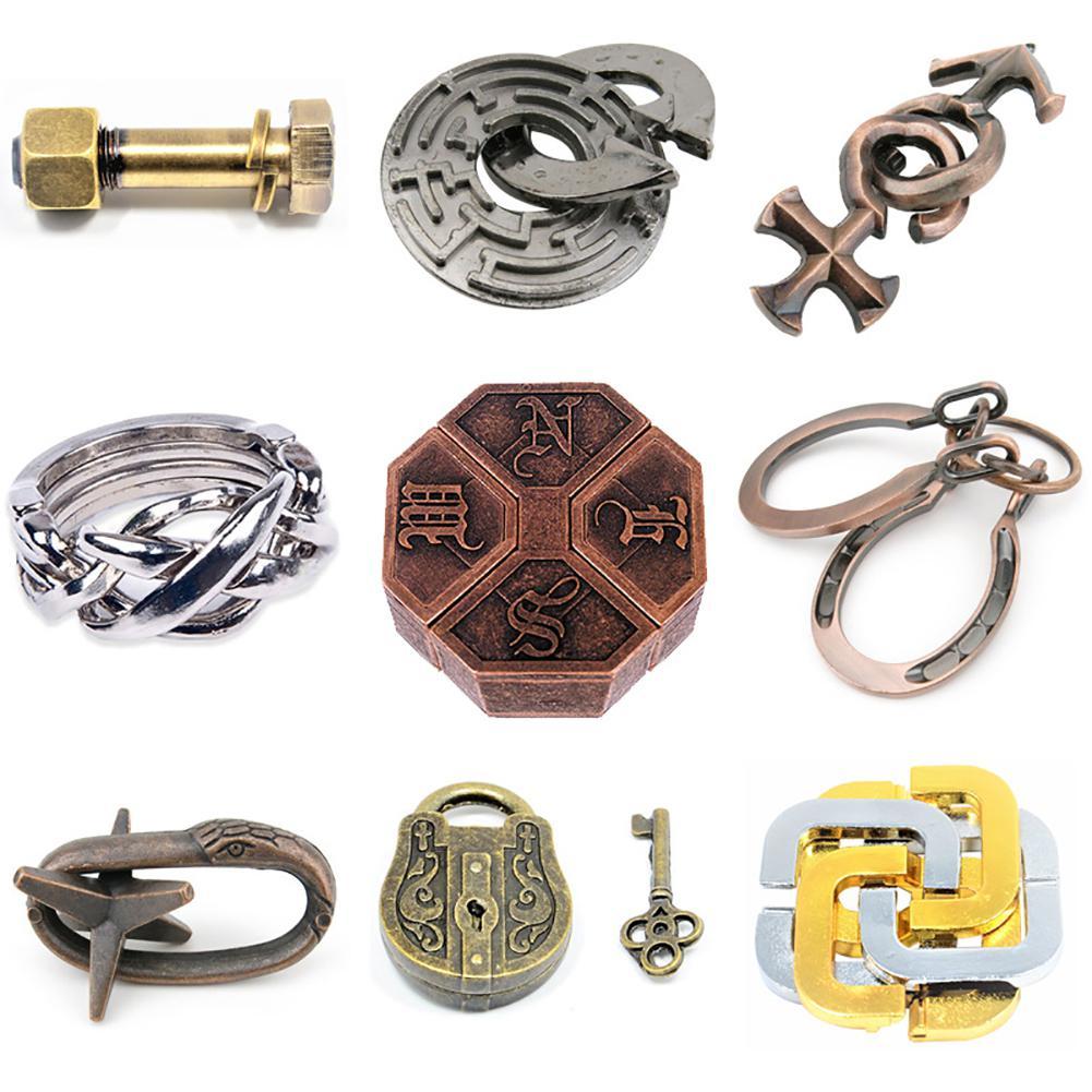HobbyLane Magic Zinc Alloy Unwinding Nostalgic Magic Gold Educational Toys