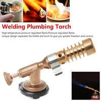 Nizza Einstellbare Hohe Temperatur Gas Hohe Temperatur Messing Gas Turbo Taschenlampe Aluminium Löten Propan Weld Sanitär