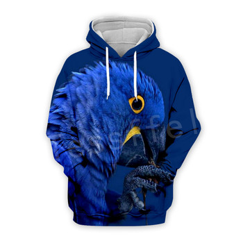 Tessffel Animal Parrot Unisex Colorful Funny NewFashion Tracksuit Harajuku 3DPrint Zipper/Hoodies/Sweatshirt/Jacket/Men/Women 13 1