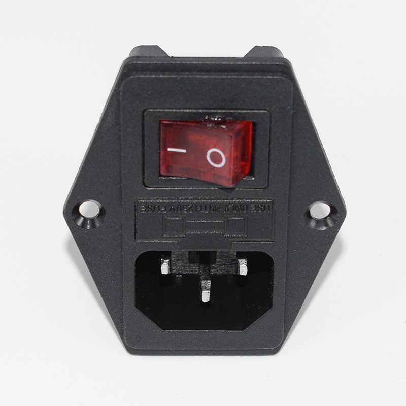 Prise de courant 3 en 1 avec porte-fusible interrupteur à bascule + connecteur de Module d'entrée de lumière XR649