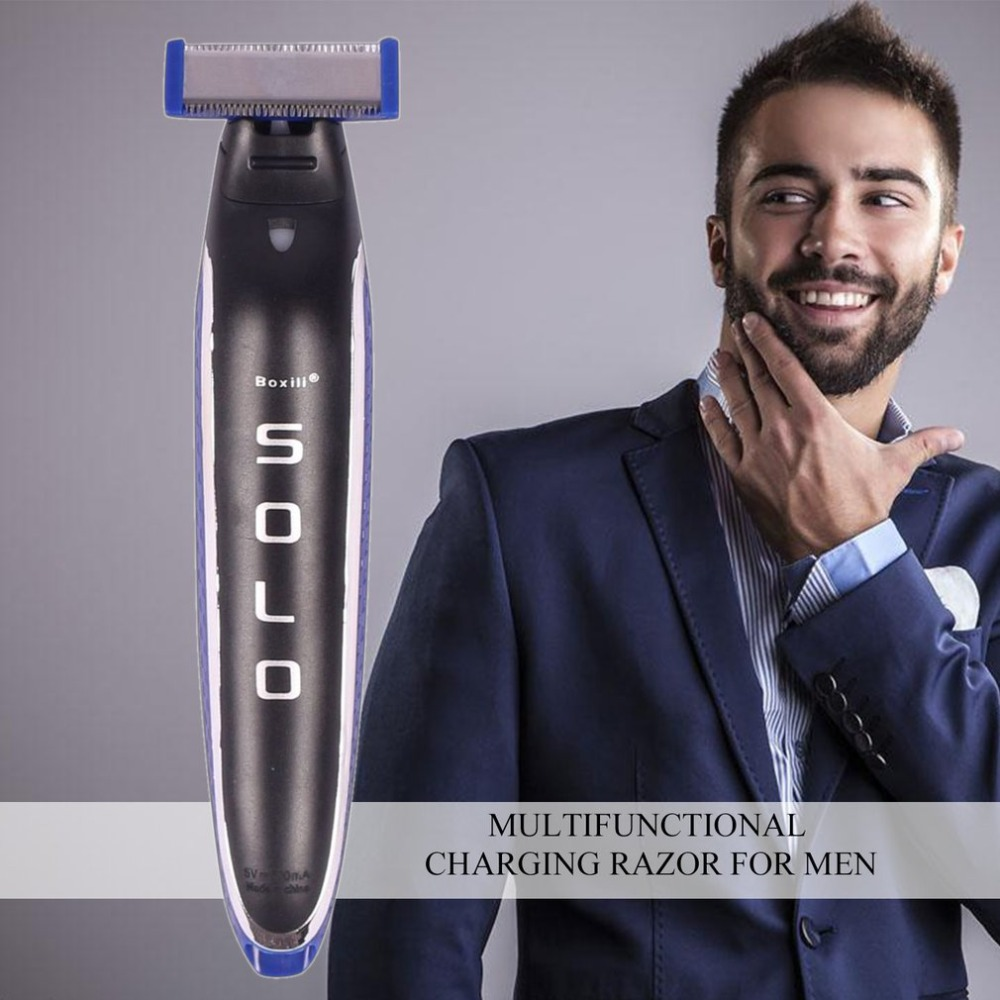 Мужская электробритва Многофункциональный перезаряжаемый для бритья машина Мужская бритва триммер для удаления волос