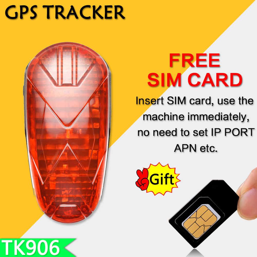 TK-STAR GPS GPRS велосипедный трекер TK906, оповещение о превышении скорости, Бесплатная платформа/приложение