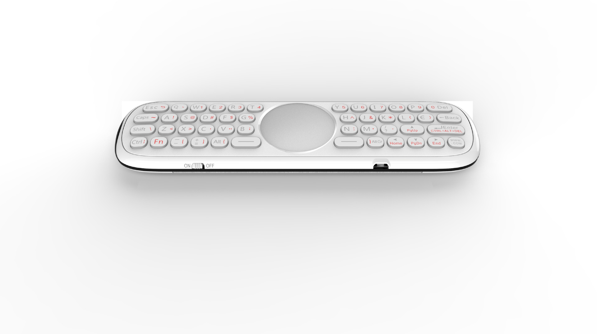 Top SaleWireless-Keyboard Remote-Control Somatosensory Backlight Double-Sided Q40 Set-Top-Box▀