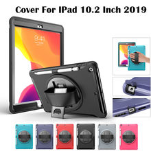 FENIORES tablets cases cover for ipad 10.2 case tablet case for IPad 10.2 Inch 2019 case With Pen Slot Shockproof Rubber EVA(China)