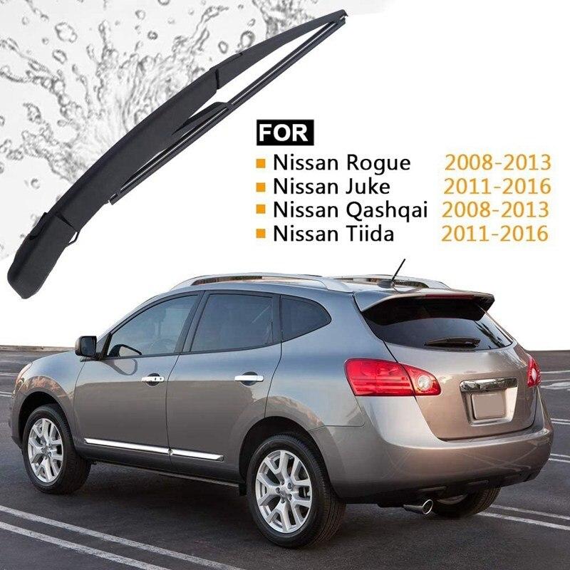 Rear Windshield Wiper Arm Blade Kit for NISSAN Juke 2011 2012 2013 2014 2015 2016 Replace OE 28780-JM00A