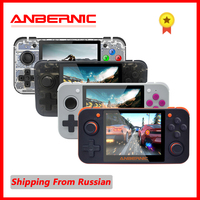 PS1 NEW ANBERNIC RG350 IPS Retro Games 350 Video games Upgrade game console ps1 game 64bit opendingux 3.5 inch 2500+ games rg350