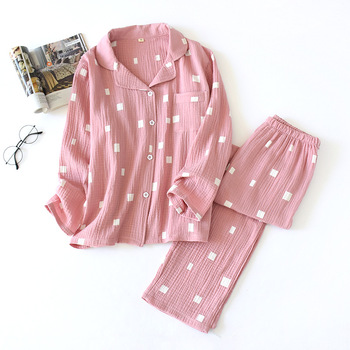 Pijamas de Mujer, Pijama para Mujer de Invierno, conjunto de 2 piezas de algodón, ropa de Mujer holgada para el hogar, conjunto Pj, Pigiama, Donna, Cotone
