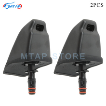 MTAP Pair Front Headlight Head Light Washer Nozzle For Honda CRV CR V 2005 2006 Headlamp Head Lamp Water Sprayer Jet Actuator