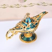 Europese Stijl Prachtige Klassieke Ambachten Decor Creatieve Rekwisieten Gift Willen Aladdin Lamp Thuis Restaurant Decor-in Figuren & Miniaturen van Huis & Tuin op