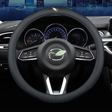 Steering-Wheel-Cover-Set CX30 Car-Styling-Accessories CX7 Mazda 2 CX9 for 3-5/6/8-rx/..