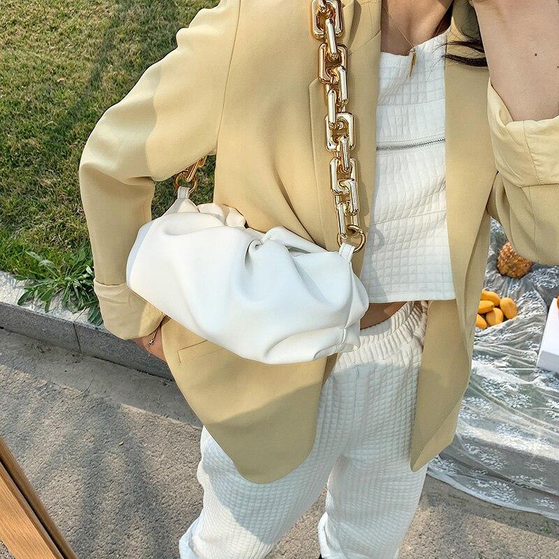 Bag For Women Cloud bag Soft Leather Hobos Bag Single Shoulder Purse Women Crossbody Bag Luxury Handbag And Purse Day Clutches 3