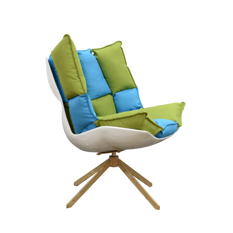 Manufacturer supply chair FRP sofa Nordic leisure lounge chair hotel creative furniture