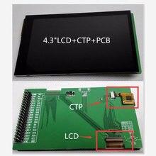 Module d'affichage LCD TFT IPS, 4.3 pouces, écran tactile résistif, HD, 800x480, adaptateur, carte PCB, RGB888, interface STM32