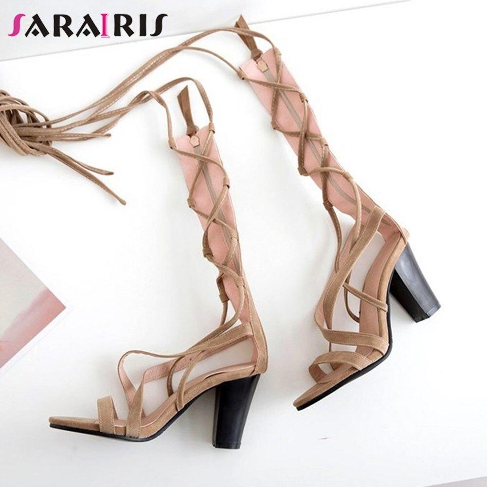 Ankle Wrap Sandals Ladies 2020