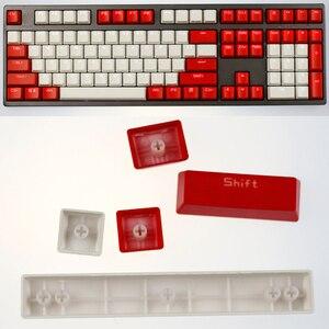 Image 5 - เชอร์รี่ Vlossom Theme ด้านบนพิมพ์ 104 คีย์ Keycaps คีย์ Caps ชุดสำหรับคีย์บอร์ดสำหรับคีย์บอร์ด