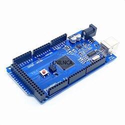MEGA2560 Mega 2560 R3 REV3 ATmega2560-16AU CH340G AVR Board ON USB Cable Compatible For arduino Mega 2560 R3 Development Board