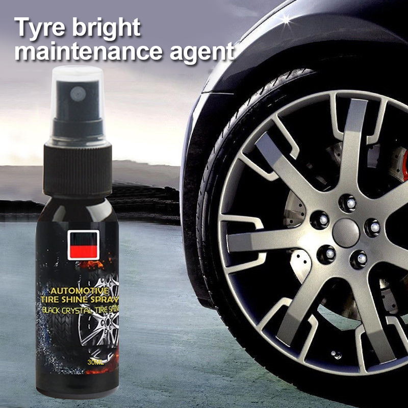 Car Accessories  30LM Auto Wheel Cleaner Tire Cleaning Agent Tire Polish Cleaner Car Cleaning Car Beauty Waxing Sponge TSLM1
