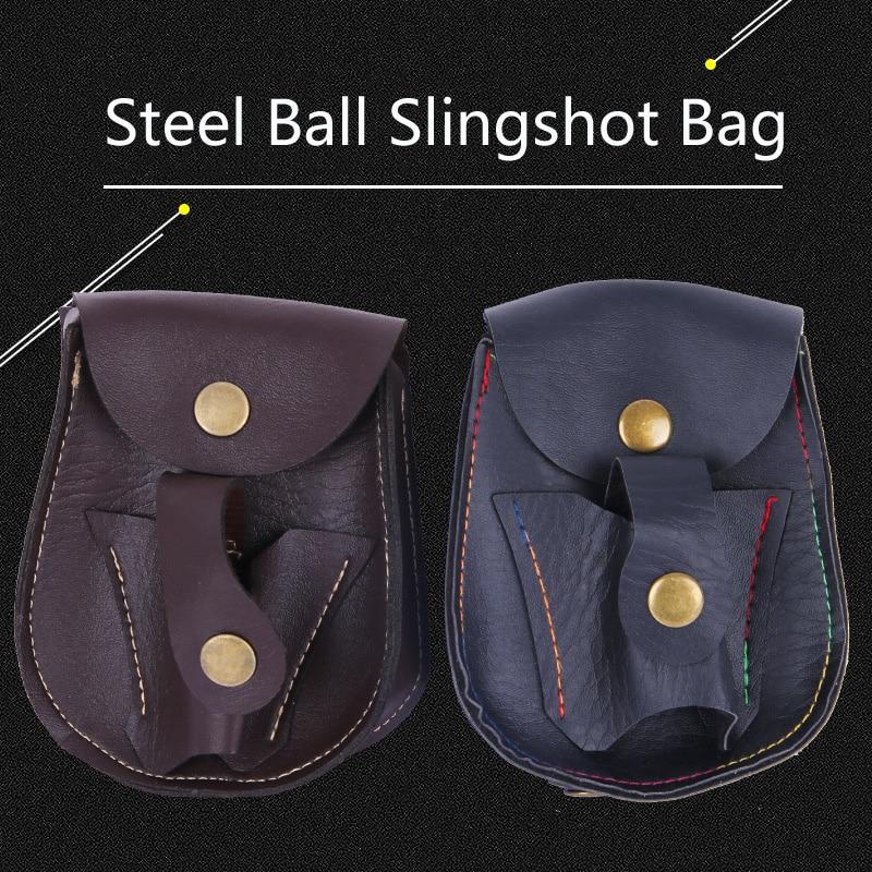 25PCS Professional Steel Ball Slingshot Package Outdoor Sports Slingshot Bag Shooting Hunting