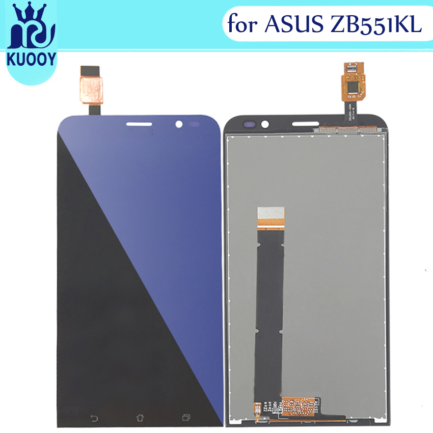 For Asus Zenfone GO TV <font><b>ZB551KL</b></font> X013D LCD <font><b>Display</b></font> with Touch Screen for Zenfone GO <font><b>ZB551KL</b></font> X013D <font><b>display</b></font> free shipping image