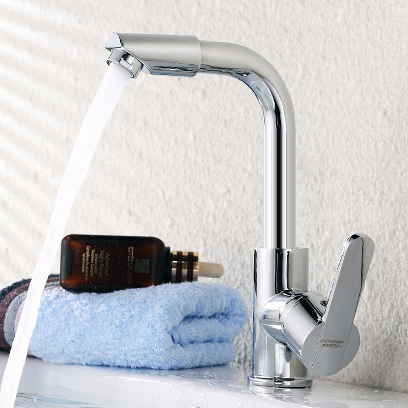 JIAYUN  Kitchen Sink Faucet Pull Out Bathroom Faucet In Brush Wet & Mini Bar Faucet