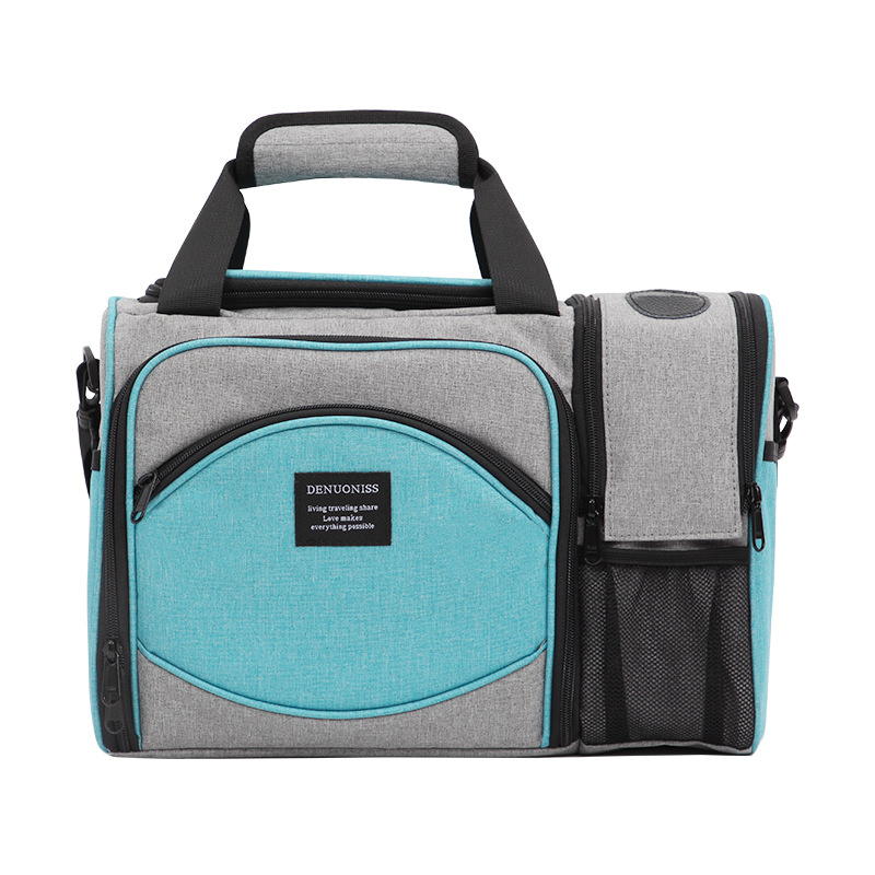 Large Waterproof <font><b>Lunch</b></font> Picnic Bag Insulated Portable Fabric Thermal <font><b>Ice</b></font> <font><b>Pack</b></font> Food Bags Large Volume Storage Cooler Beer Wine Bag image