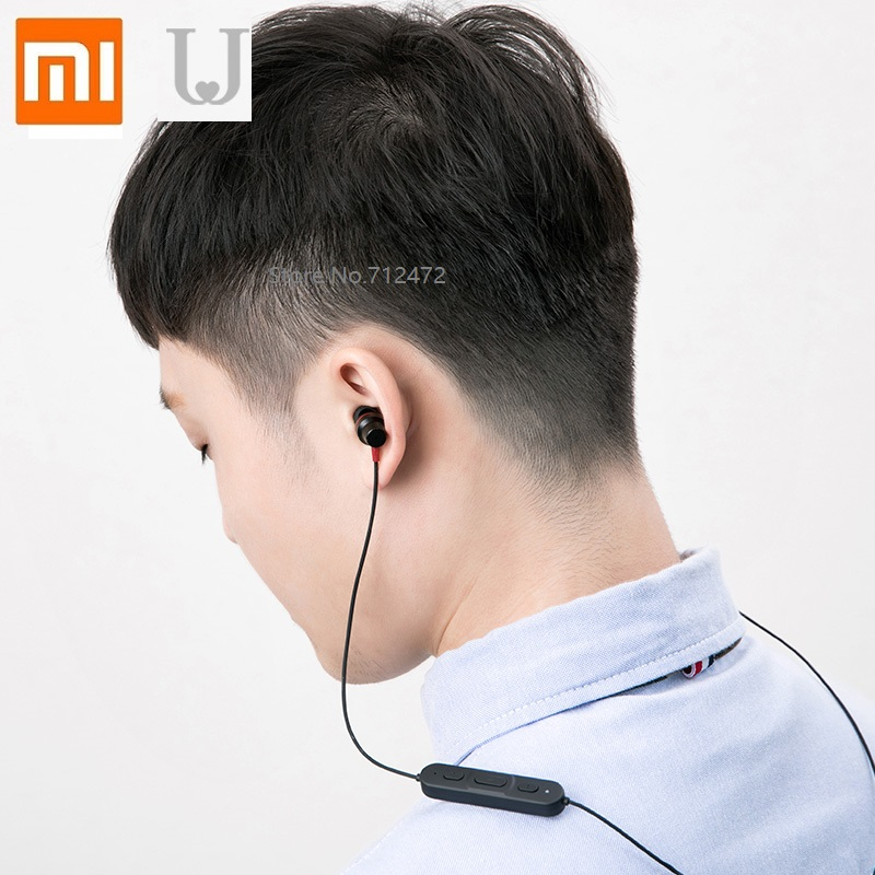 Xiaomi Jordanjudy Sports Bluetooth 4.1 Headset Wireless Running Neck Hanging Type Halter Waterproof And Sweatproof Headphones