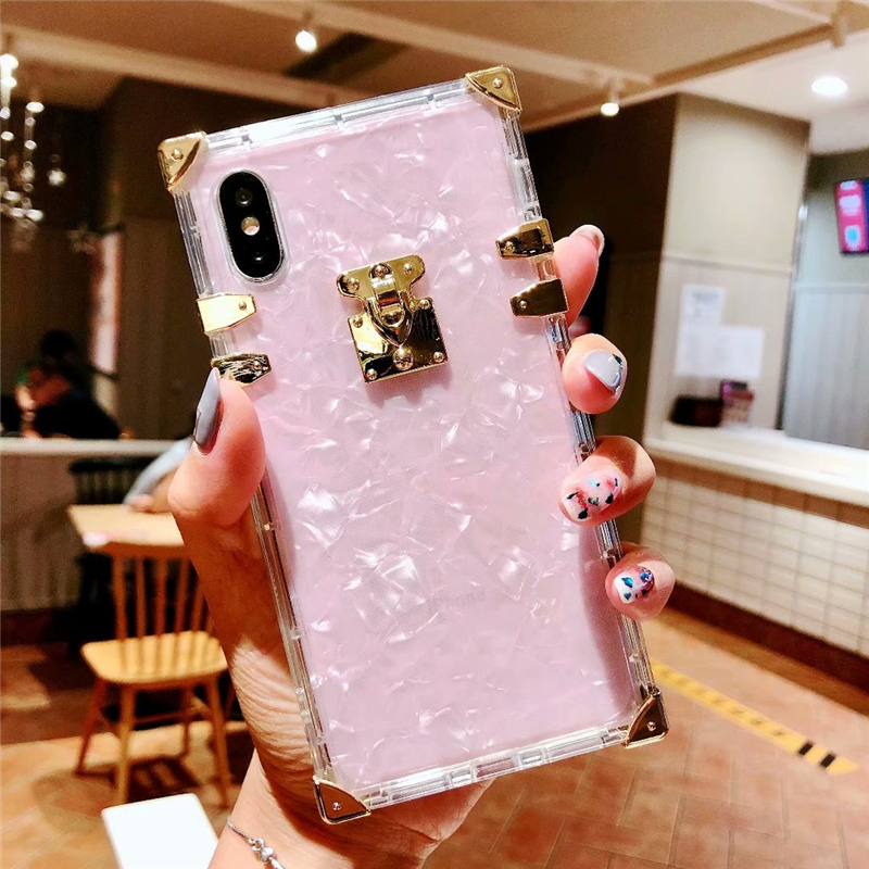 Hf592811544794d43acdcbb06ac0c0171e - Luxury Square Clear TPU Case For iPhone 11 Pro Max Soft Silicone Bling Phone Cover For iPhone X XS Max XR For iPhone 6 7 8 Plus